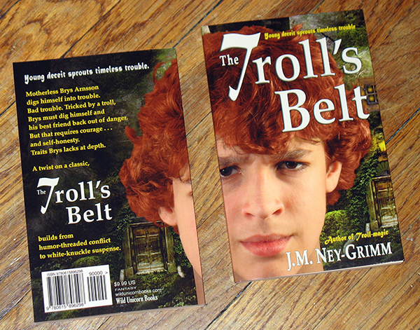 Photo of the cover for The Troll's Belt
