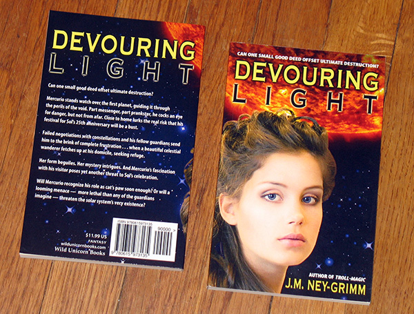 Devouring Light paperback
