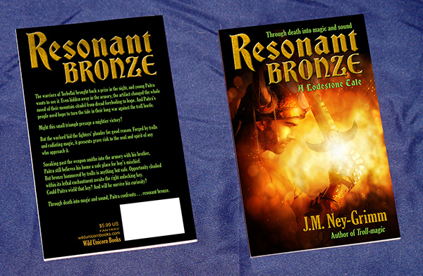 Resonant Bronze paperback
